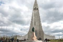 Hallgrímskirkja church Iceland