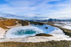 Krafla Viti Crater