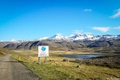 Driving to Snæfellsnes Peninsula