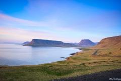 Cutting through Snæfellsnes Peninsula