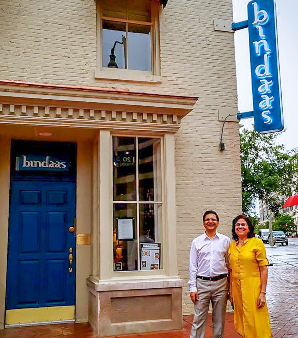 Bindaas Indian Food Dc